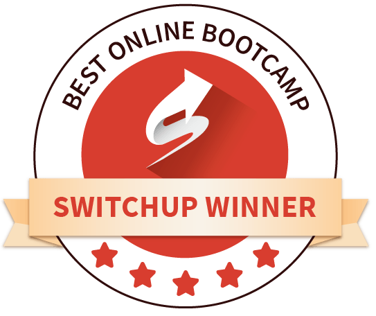 Switchup Best Online Bootcamp Award